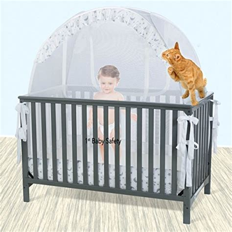 baby crib tent safety net pop up canopy cover never recalled