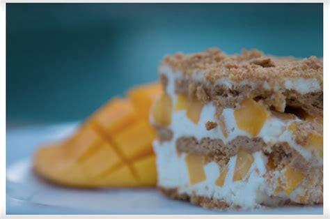 how to make a graham cake mango float cake steve s kitchen