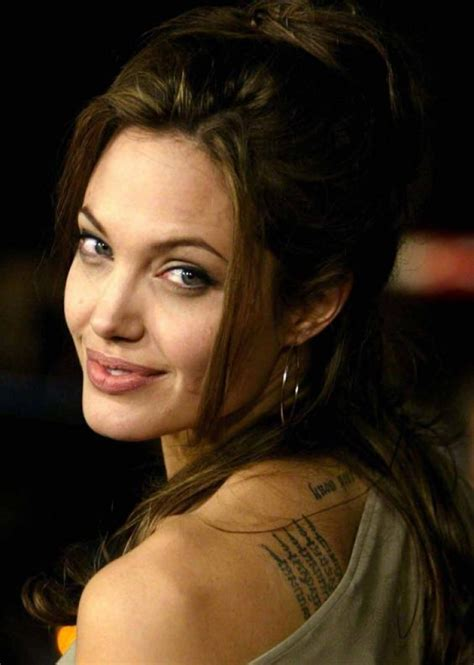angelina jolie tattoo wallpaper angelina jolie hollywood actress wallpapers download