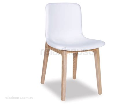 Padded Dining Chair White Upholstered Dining Chairs