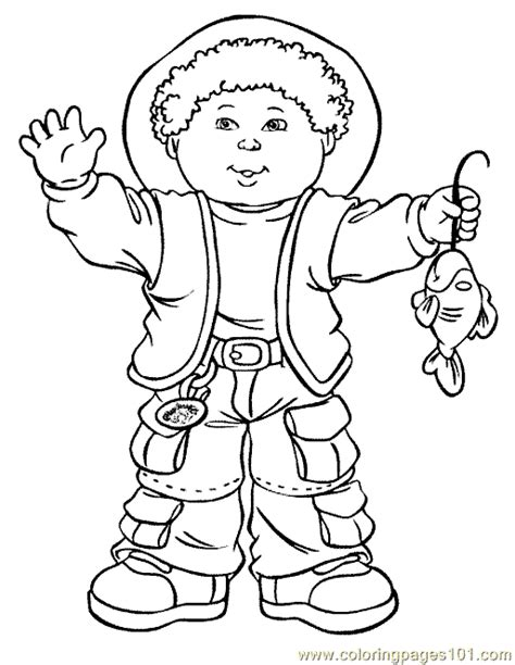 Cabbage Patch Kids Free Coloring Pages Cabbage Patch Coloring Pages