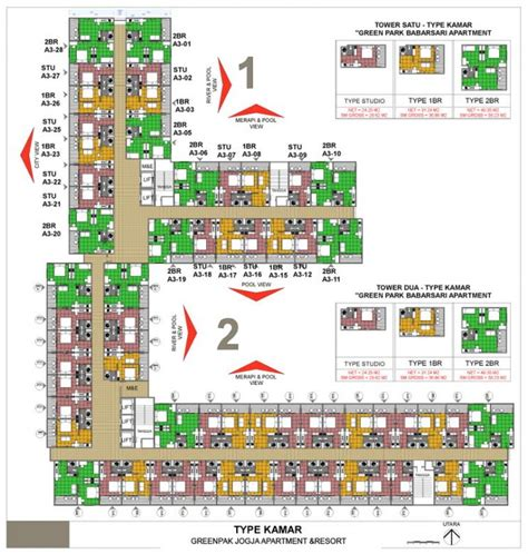 yogyakarta green park jogja l apartment and resort l 3 x
