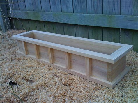 wood window planter boxes 36 window box cypress wooden planter flower new wood
