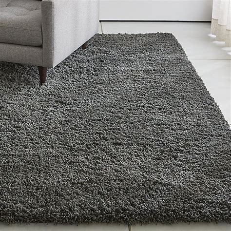 gray shag rug grey shag rug crate and barrel
