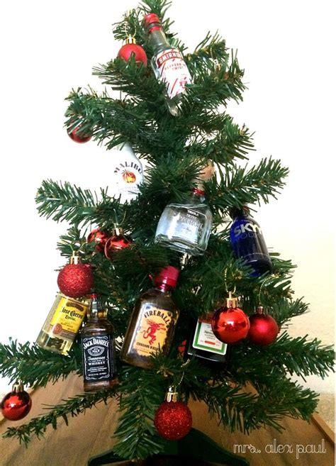 rum bottle xmas tree 1000 ideas about mini bottles on 21st birthday gifts 21 birthday gifts and