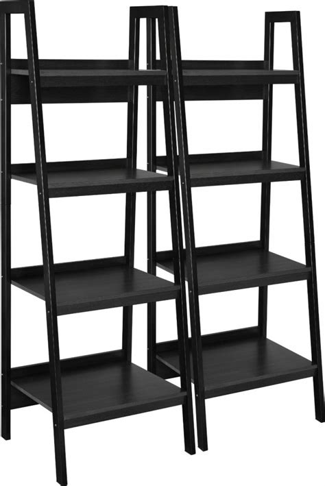ladder bookcase black best 22 leaning ladder bookshelf and bookcase collection