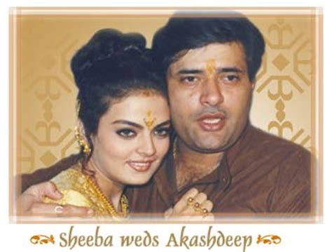 Sheeba akashdeep marriage boot