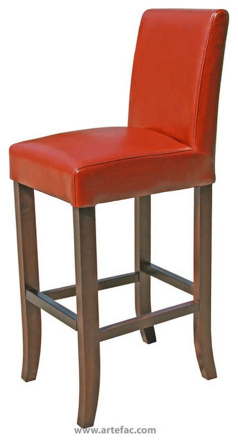 Cognac Leather Counter Stool by Leather Counter Stool 26 Quot Seat Height Cognac