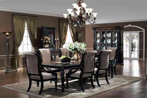 elegant dining room sets home design and decoration portal