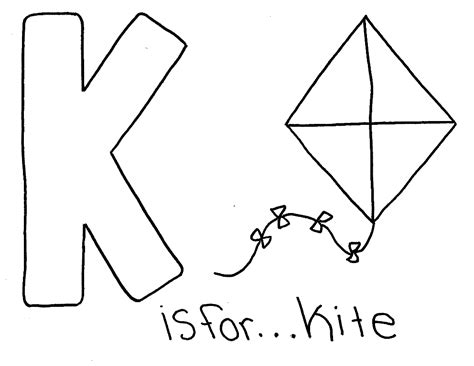 coloring pages of letter k the letter k coloring pages coloring home