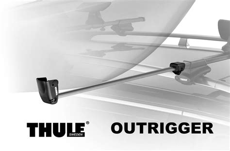 Load Assist Kayak Rack by Thule 847 Outrigger 2 Load Assist Kayak And Canoe Rooftop Loader