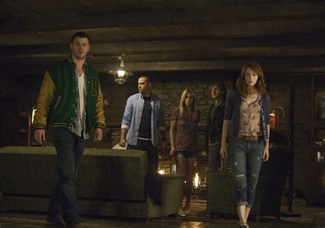 The Cabin In The Woods Imdb by Cabin In The Woods Takes Horror Self Awareness To New