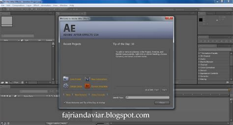 adobe after effect cs4 portable free download tutorial