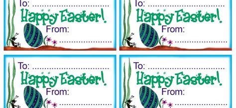 printable gift certificates for easter easter gift tags rooftop post printables