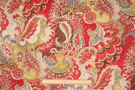 discount drapery fabric clearance the fabric cellar clearance richloom teak printed