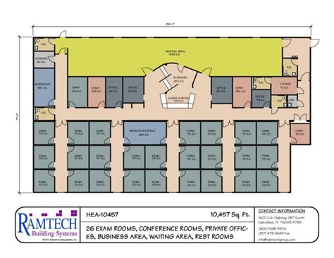 medical clinic floor plan modular medical building floor plans healthcare clinics