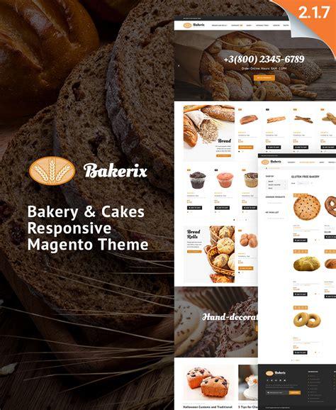 shopify themes bakery bakery templates archives zemez magento