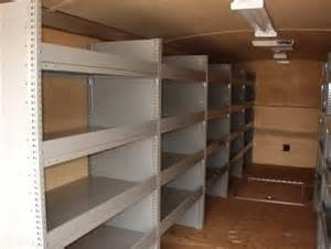 cargo trailer shelving