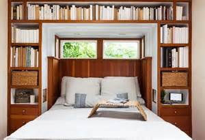 bookshelves around bed bookshelf headboard king woodworking projects plans