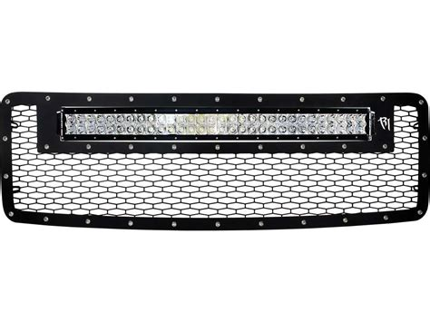 Led Grill Light Bar 2013 2014 Ford F150 Grille With 30 Quot Rds Led Light Rigid Industries