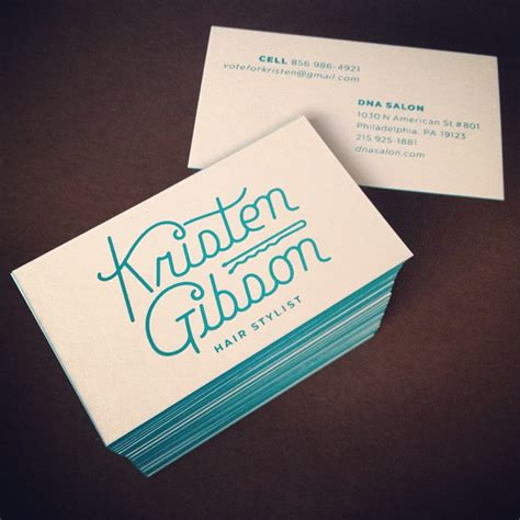 Screen Printing Business Cards