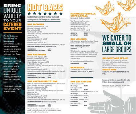 printable menu for qdoba caterdmv a brand new experience in catering qdoba