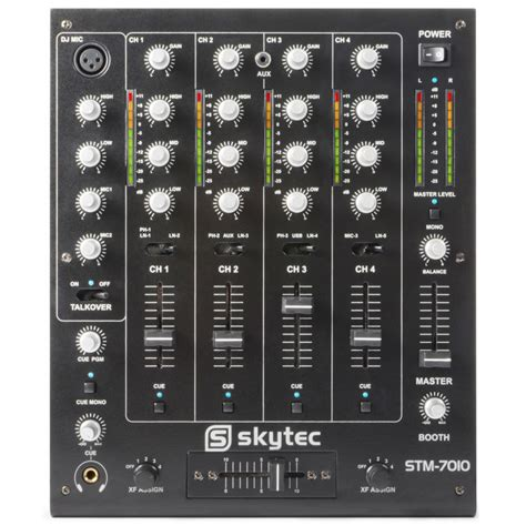 Mixer Cina 4 Channel skytec stm 7010 4 channel dj mixer dj city