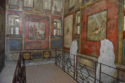 pompei casa dei vettii pompei scopre ancora nuove meraviglie ecco le nuove domus