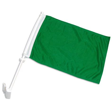 green car flag colored flags for your vehicle