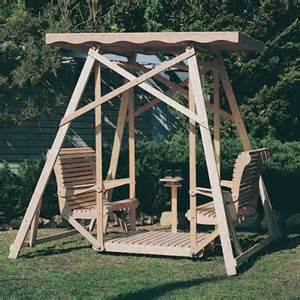 Patio Swing Plans by Download Glider Porch Swing Woodworking Plans Plans Free