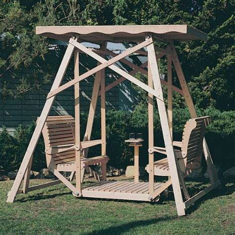 wooden glider swing plans pdf plans glider porch swing woodworking plans free