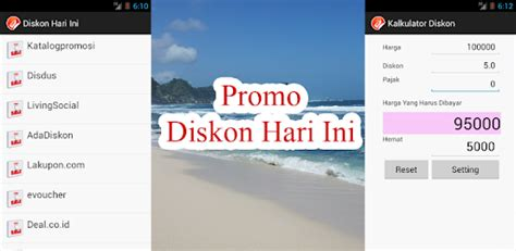 promo diskon hari ini apps on play