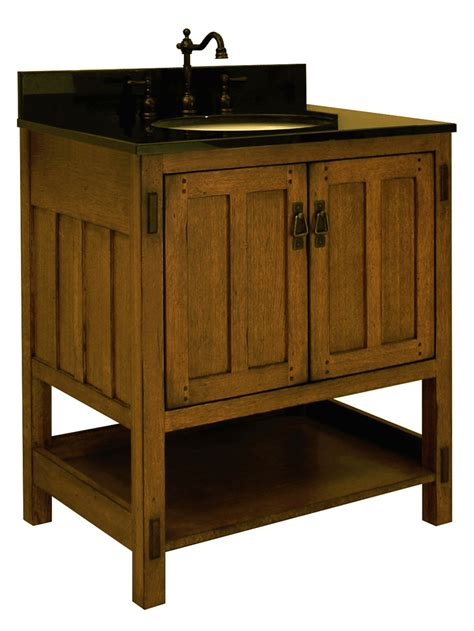 craftsman style bathroom vanities 30 quot american craftsman single bath vanity bathgems com