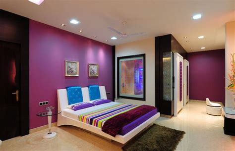 purple paint colors for bedroom how to decorate a bedroom with purple walls