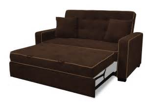 Painting Vinyl Upholstery Brown Tufted Sleeper Sofa With Folding Bed And Arm In