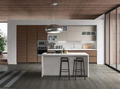 cucine noce cucina noce moderna ad isola cucina componibile mod petalo