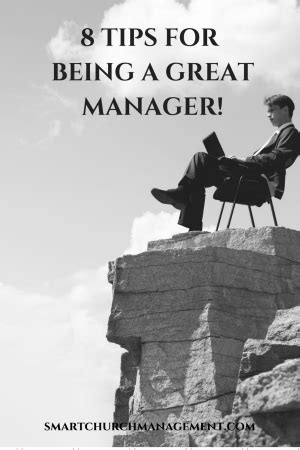 8 Tips On Being A by 8 Tips For Being A Great Manager