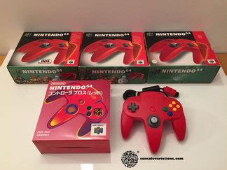 n64 console colors nintendo 64 controller variations the database for all