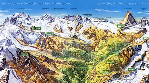 zermatt map switzerland