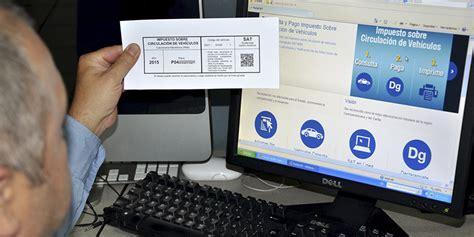 imprimir calcomania de vehiculos de 2016 c 243 mo pagar la calcoman 237 a del impuesto sobre circulaci 243 n de