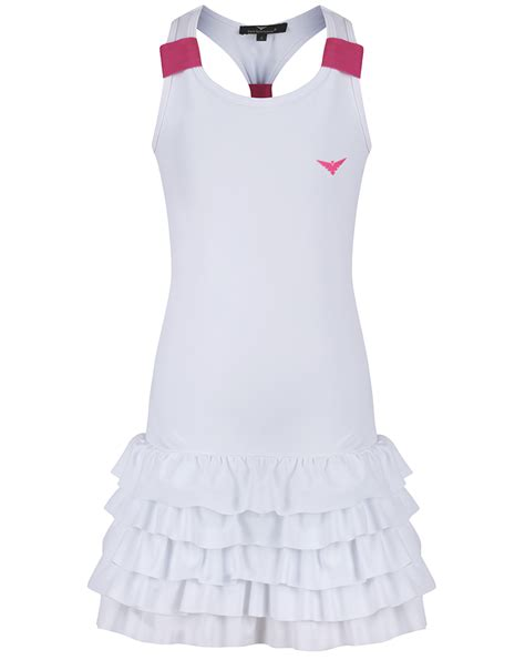 Tannia Dress by White Tennis Dress White Pink Tennis Dress
