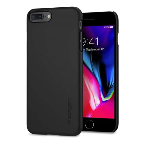 spigen 174 thin fit 055cs22238 iphone 8 plus 7 plus black spaceboy