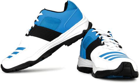 adidas 22yds pro cricket shoes for buy white blue color adidas 22yds pro cricket shoes