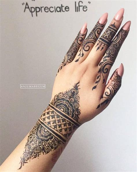 henna hand finger tattoo 25 best ideas about black henna on henna