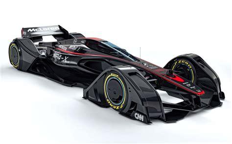 concept mclaren mclaren previews formula 1 future with mp4 x concept biser3a