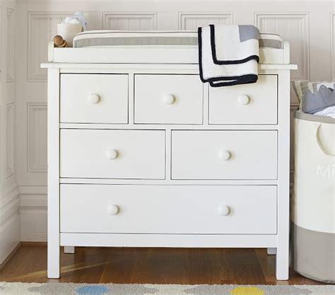 Changing Table And Dresser Set Kendall Dresser Topper Set Pottery Barn