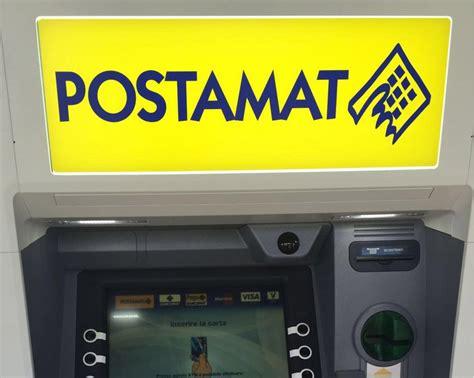 ufficio postale cerveteri ladispoli nuovo atm postamat nell ufficio postale di via