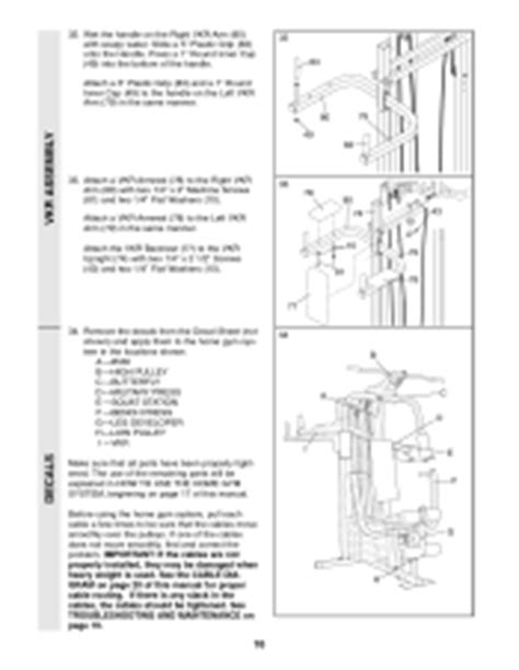 weider 8530 user manual page 20