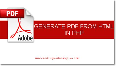 convert html to pdf in php with dompdf codexworld kodingmadesimple programming blog php codeigniter
