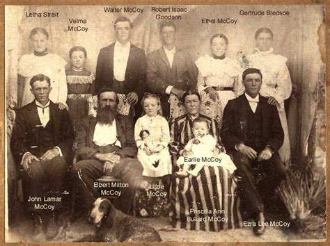 Hatfield And Mccoy Family Pictures hatfield and mccoy family tree submitted by tim j mccoy